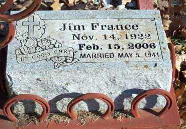 FRANCE, JIM - Crawford County, Arkansas | JIM FRANCE - Arkansas Gravestone Photos