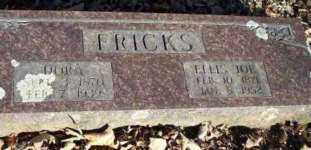 FRICKS, DORA - Crawford County, Arkansas | DORA FRICKS - Arkansas Gravestone Photos