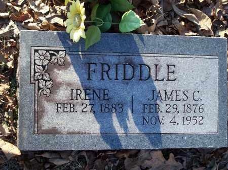 FRIDDLE, JAMES C - Crawford County, Arkansas | JAMES C FRIDDLE - Arkansas Gravestone Photos