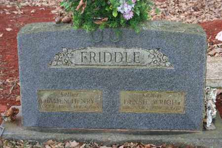 WRIGHT FRIDDLE, DESSIE - Crawford County, Arkansas | DESSIE WRIGHT FRIDDLE - Arkansas Gravestone Photos