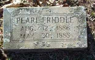 FRIDDLE, PEARL - Crawford County, Arkansas | PEARL FRIDDLE - Arkansas Gravestone Photos