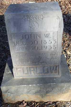 FURLOW, JOHN W. - Crawford County, Arkansas | JOHN W. FURLOW - Arkansas Gravestone Photos