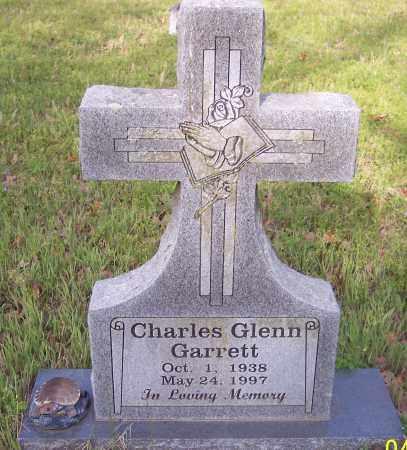 GARRETT, CHARLES GLENN - Crawford County, Arkansas | CHARLES GLENN GARRETT - Arkansas Gravestone Photos