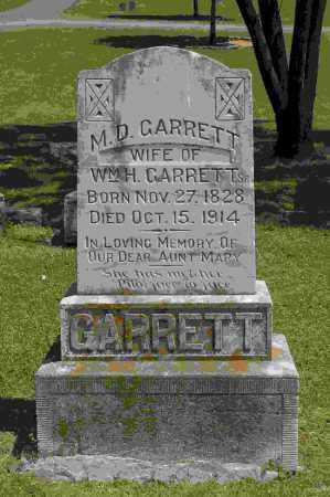 GARRETT, M D - Crawford County, Arkansas | M D GARRETT - Arkansas Gravestone Photos
