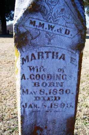 COLLINS GOODING, MARTHA E. (CLOSE-UP) - Crawford County, Arkansas | MARTHA E. (CLOSE-UP) COLLINS GOODING - Arkansas Gravestone Photos