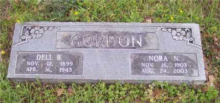 GORDON, NORA N - Crawford County, Arkansas | NORA N GORDON - Arkansas Gravestone Photos