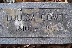 GOWIN, LOUISA - Crawford County, Arkansas | LOUISA GOWIN - Arkansas Gravestone Photos