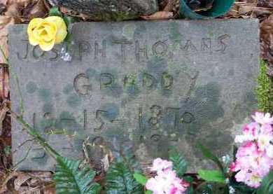 GRADDY, JOSEPH THOMAS - Crawford County, Arkansas | JOSEPH THOMAS GRADDY - Arkansas Gravestone Photos