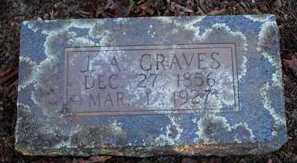 GRAVES, J A - Crawford County, Arkansas | J A GRAVES - Arkansas Gravestone Photos