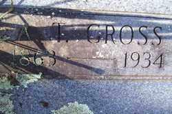 GROSS, A. T. - Crawford County, Arkansas | A. T. GROSS - Arkansas Gravestone Photos