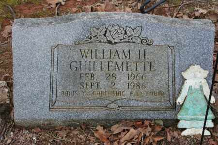GUILLEMETTE, WILLIAM - Crawford County, Arkansas | WILLIAM GUILLEMETTE - Arkansas Gravestone Photos