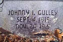 GULLEY, JOHNNY I. - Crawford County, Arkansas | JOHNNY I. GULLEY - Arkansas Gravestone Photos