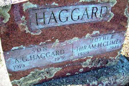 HAGGARD, HIRAM H. - Crawford County, Arkansas | HIRAM H. HAGGARD - Arkansas Gravestone Photos