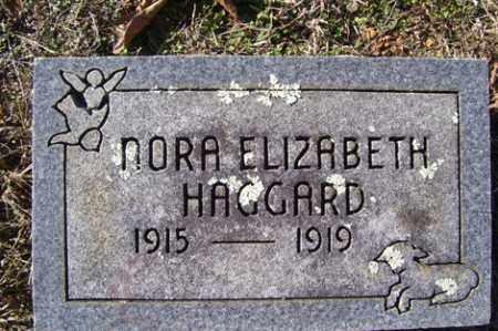 HAGGARD, NORA ELIZABETH - Crawford County, Arkansas | NORA ELIZABETH HAGGARD - Arkansas Gravestone Photos