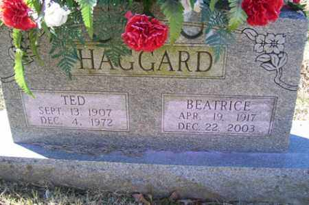 HAGGARD, TED - Crawford County, Arkansas | TED HAGGARD - Arkansas Gravestone Photos