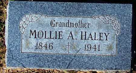 HALEY, MOLLIE A - Crawford County, Arkansas | MOLLIE A HALEY - Arkansas Gravestone Photos