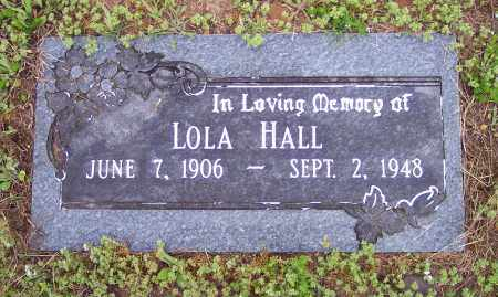 HALL, LOLA - Crawford County, Arkansas | LOLA HALL - Arkansas Gravestone Photos