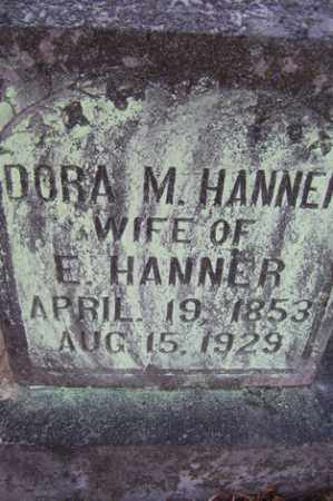 MCMASTER HANNER, DORA M - Crawford County, Arkansas | DORA M MCMASTER HANNER - Arkansas Gravestone Photos