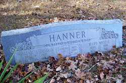 HANNER, MARY MYRTLE - Crawford County, Arkansas | MARY MYRTLE HANNER - Arkansas Gravestone Photos