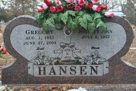 HANSEN, GREGORY - Crawford County, Arkansas | GREGORY HANSEN - Arkansas Gravestone Photos