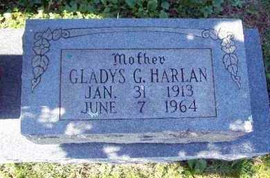 HARLAN, GLADYS G. - Crawford County, Arkansas | GLADYS G. HARLAN - Arkansas Gravestone Photos