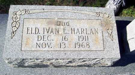HARLAN, IVAN E. - Crawford County, Arkansas | IVAN E. HARLAN - Arkansas Gravestone Photos