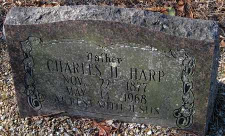 HARP, CHARLES H. - Crawford County, Arkansas | CHARLES H. HARP - Arkansas Gravestone Photos