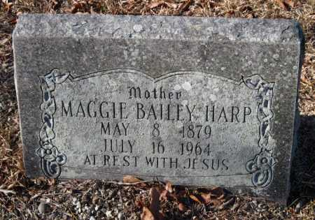 BAILEY HARP, MAGGIE - Crawford County, Arkansas | MAGGIE BAILEY HARP - Arkansas Gravestone Photos