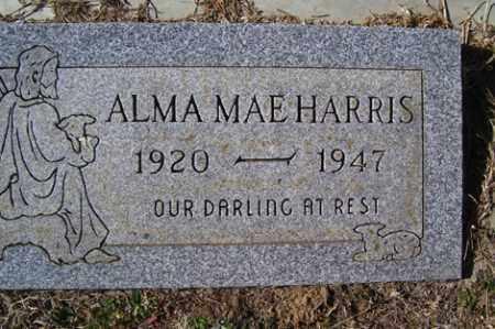 HARRIS, ALMA MAE - Crawford County, Arkansas | ALMA MAE HARRIS - Arkansas Gravestone Photos