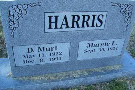 HARRIS, D MURL - Crawford County, Arkansas | D MURL HARRIS - Arkansas Gravestone Photos