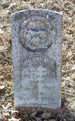 HARRIS, MOBLEY W. - Crawford County, Arkansas | MOBLEY W. HARRIS - Arkansas Gravestone Photos