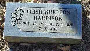 HARRISON, ELISH SHELTON - Crawford County, Arkansas | ELISH SHELTON HARRISON - Arkansas Gravestone Photos