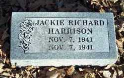 HARRISON, JACKIE RICHARD - Crawford County, Arkansas | JACKIE RICHARD HARRISON - Arkansas Gravestone Photos