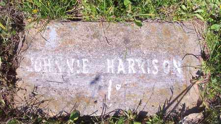 HARRISON, JOHNNIE - Crawford County, Arkansas | JOHNNIE HARRISON - Arkansas Gravestone Photos
