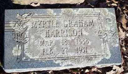 GRAHAM HARRISON, MYRTLE - Crawford County, Arkansas | MYRTLE GRAHAM HARRISON - Arkansas Gravestone Photos