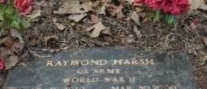 HARSH  (VETERAN WWII), RAYMOND - Crawford County, Arkansas | RAYMOND HARSH  (VETERAN WWII) - Arkansas Gravestone Photos