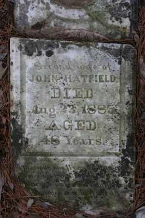 JAMES HATFIELD, MARY - Crawford County, Arkansas | MARY JAMES HATFIELD - Arkansas Gravestone Photos