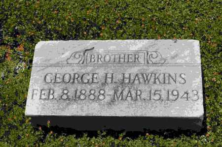 HAWKINS, GEORGE H. - Crawford County, Arkansas | GEORGE H. HAWKINS - Arkansas Gravestone Photos