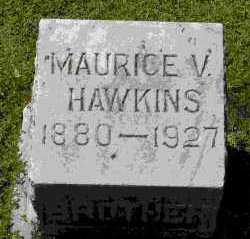 HAWKINS, MAURICE V - Crawford County, Arkansas | MAURICE V HAWKINS - Arkansas Gravestone Photos