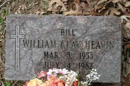 """HEAVIN, WILLIAM CLAY """"BILL"""" - Crawford County, Arkansas   WILLIAM CLAY """"BILL"""" HEAVIN - Arkansas Gravestone Photos"""