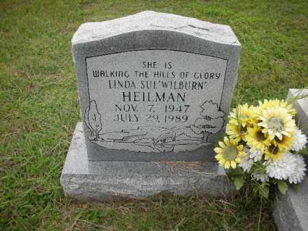 WILBURN HEILMAN, LINDA SUE - Crawford County, Arkansas | LINDA SUE WILBURN HEILMAN - Arkansas Gravestone Photos