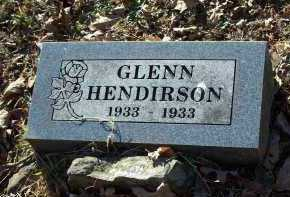 HENDIRSON, GLENN - Crawford County, Arkansas | GLENN HENDIRSON - Arkansas Gravestone Photos