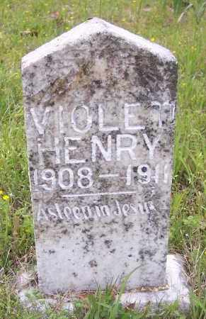 HENRY, VIOLET - Crawford County, Arkansas | VIOLET HENRY - Arkansas Gravestone Photos