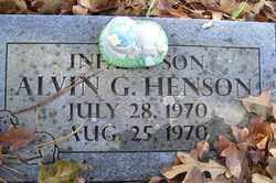 HENSON, ALVIN G - Crawford County, Arkansas | ALVIN G HENSON - Arkansas Gravestone Photos
