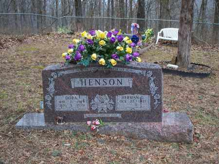 HENSON, HERMAN G - Crawford County, Arkansas | HERMAN G HENSON - Arkansas Gravestone Photos