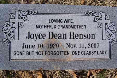 HENSON, JOYCE - Crawford County, Arkansas | JOYCE HENSON - Arkansas Gravestone Photos