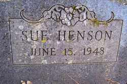 HENSON, SUE - Crawford County, Arkansas | SUE HENSON - Arkansas Gravestone Photos