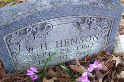 HENSON, W H - Crawford County, Arkansas | W H HENSON - Arkansas Gravestone Photos
