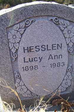 HESSLEN, LUCY ANN - Crawford County, Arkansas | LUCY ANN HESSLEN - Arkansas Gravestone Photos