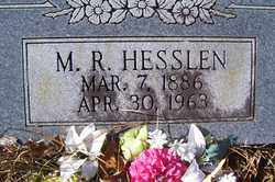 HESSLEN, M R - Crawford County, Arkansas | M R HESSLEN - Arkansas Gravestone Photos